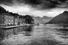 Boka Kotorska, Kotor Bay, Montenegro Royalty Free Stock Photography