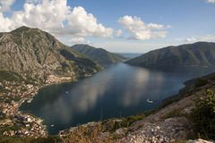 Boka Kotorska, Montenegro Stock Fotografie