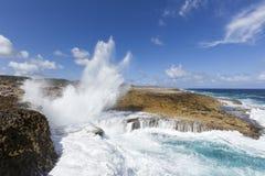 Boka-Pistole, Nationalpark Curaçao Shete Boka Stockfotos