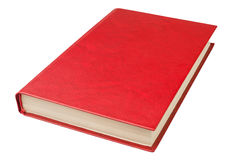 Boka rött Fotografering för Bildbyråer