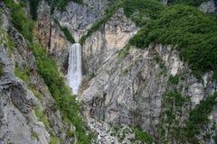Boka Wasserfall stockfotos