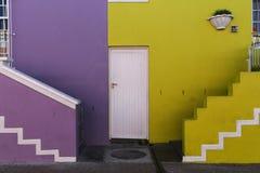 BoKaap颜色在开普敦 免版税库存照片