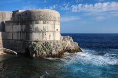 bokar croatia dubrovnik fästning Arkivfoto