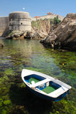 Bokar fort and city walls. Dubrovnik. Croatia Stock Image