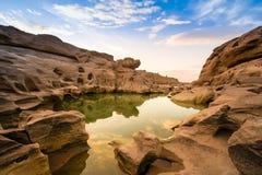 3000-Boke峡谷,泰国 库存照片