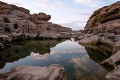 3000-Boke峡谷,泰国 免版税库存图片