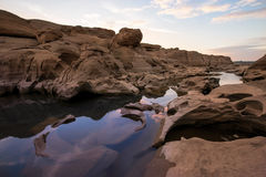 3000-Boke峡谷,泰国 免版税库存照片