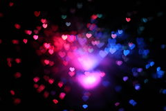 boke abstracto del corazón Fotografía de archivo libre de regalías