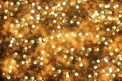 Boke background, gold royalty free stock photos