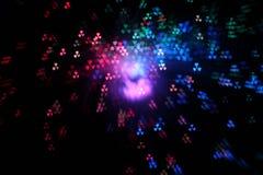 boke radiactivo abstracto Imagen de archivo