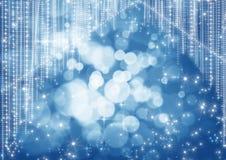 Boke Trennvorhang feiern Lizenzfreies Stockbild