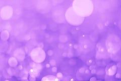 Bokeh背景紫色 库存照片
