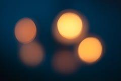 Bokeh światła. Fotografia Royalty Free