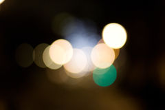 Bokeh światła Fotografia Stock
