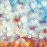 Bokeh światła pastelu tło Zdjęcie Royalty Free