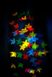 Bokeh από τα αστέρια Στοκ Φωτογραφίες