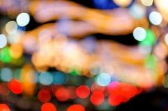 bokeh ζωηρόχρωμη σειρά κύκλων Στοκ φωτογραφίες με δικαίωμα ελεύθερης χρήσης