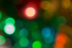 bokeh ζωηρόχρωμος αφηρημένα Χριστούγεννα ανασκόπησης Στοκ εικόνες με δικαίωμα ελεύθερης χρήσης