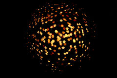 bokeh φως λουλουδιών Στοκ Φωτογραφίες