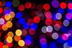 Bokeh-абстракция: Играть красочные отражения стоковые изображения rf