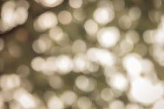Bokeh желтого праздника праздничное абстрактное рождество предпосылки Стоковое фото RF
