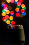 Bokeh красного вина Стоковое Фото