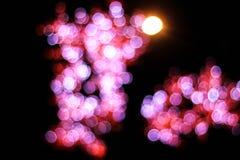 Bokeh ночи Стоковое Изображение RF
