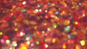 Bokeh освещает в много различных, ярких, и милых цветов Стоковое Изображение RF