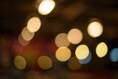 Bokeh освещает предпосылку стоковое фото rf