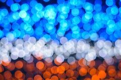 Bokeh освещает предпосылку стоковое изображение