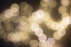 bokeh предпосылки праздничное Стоковые Изображения RF