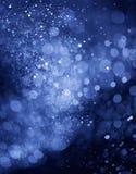 bokeh предпосылки голубое легкое для использования Стоковое Фото