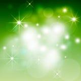 Bokeh предпосылки рождества Стоковое Фото