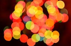 bokeh предпосылки цветастое стоковая фотография