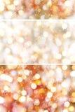 Bokeh светов рождества Стоковые Фото