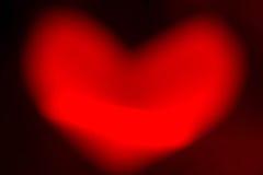 Bokeh сердца Стоковые Изображения
