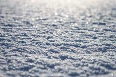 Bokeh снега Стоковые Изображения RF