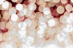 Bokeh тона красного цвета Стоковая Фотография RF