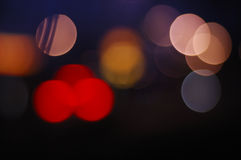 bokeh цветастое Стоковые Фотографии RF