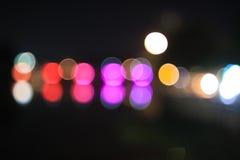 Bokeh цвета Стоковое Фото