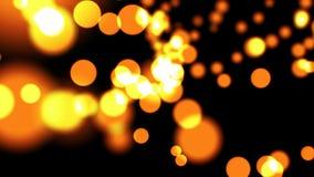 Φωτεινός βρόχος υποβάθρου bokeh απεικόνιση αποθεμάτων
