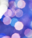 Bokeh. Beautiful abstract colorful background of holiday lights Royalty Free Stock Photos