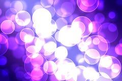 Bokeh. Circle bokeh, violet and white Stock Photo