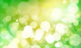 зеленый цвет bokeh Стоковая Фотография RF