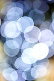Bokeh. Christmas bokeh with white and purple color Royalty Free Stock Photography