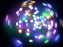 Bokeh абстрактного света круга красочное стоковые фотографии rf