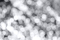 Bokeh. Lights on dark background Stock Photography