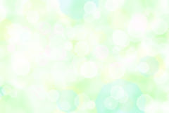 Bokeh. Abstract green background with bokeh Royalty Free Stock Image