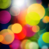 Bokeh. Abstract background in the form of indistinct fires royalty free illustration