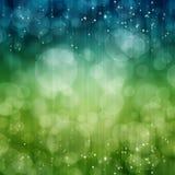 Bokeh. Background with shiny sparkling stars royalty free illustration